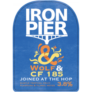 Iron Pier Joined At the Hop Wolf and CF185