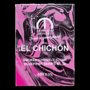 Moncada Brewery El Chichon Chipotle Stout