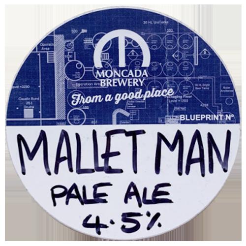 Moncada Brewery Mallet Man Pale Ale