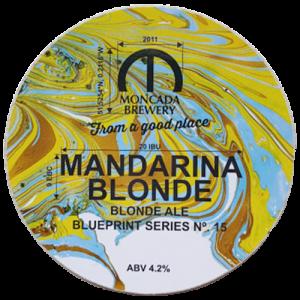 Moncada Brewery Mandarina Blonde Ale