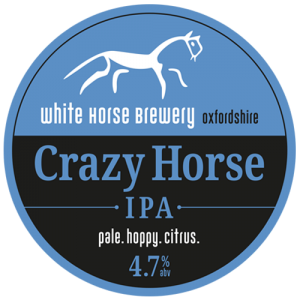 White Horse Brewery Crazy Horse IPA