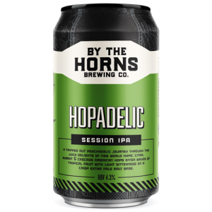 By The Horns Hopadelic Cans