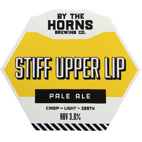 By The Horns Stiff Upper Lip Pale Ale