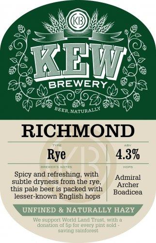 Kew Brewery Richmond Rye