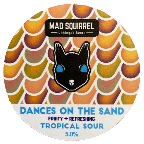 Mad Squirrel Dances on The Sand