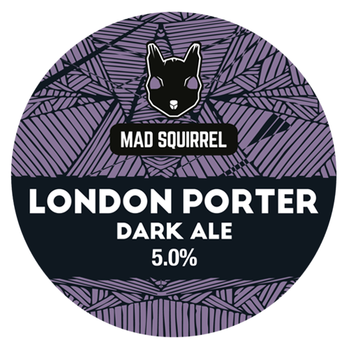 Mad Squirrel London Porter Dark Ale