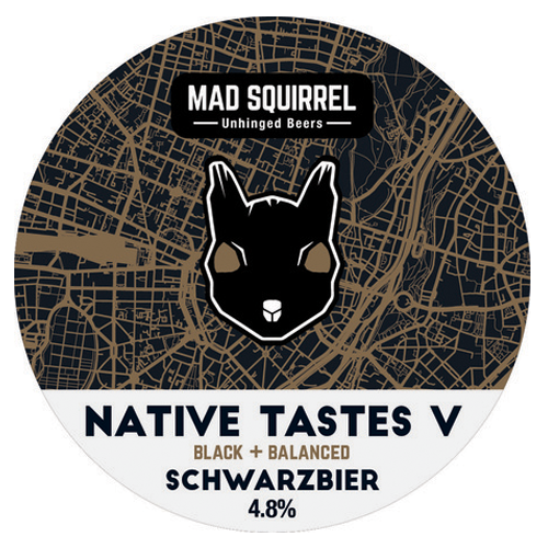 Mad Squirrel Native V Schwarzbier