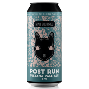 Mad Squirrel Post Run Sultana Pale Ale Cans