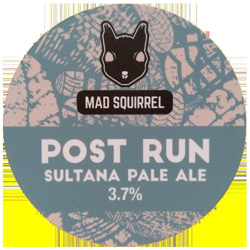 Mad Squirrel Post Run Sultana Pale Ale