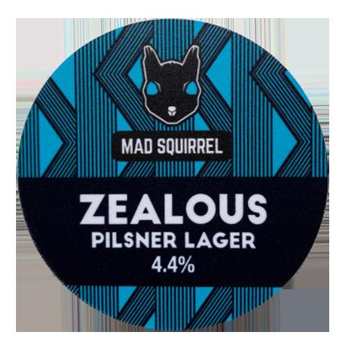 Mad Squirrel Zealous Pilsner Lager