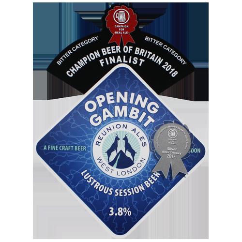 Reunion Ales Opening Gambit