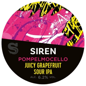Siren Craft Brew Pompelmocello Juicy Grapefruit Sour IPA