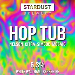 Stardust Brewery Hop Tub