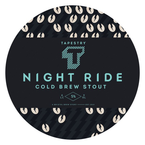 Tapestry Brewery Night Ride Cold Brew Stout