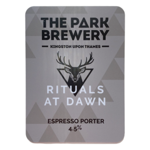 The Park Brewery Rituals At Dawn Espresso Porter