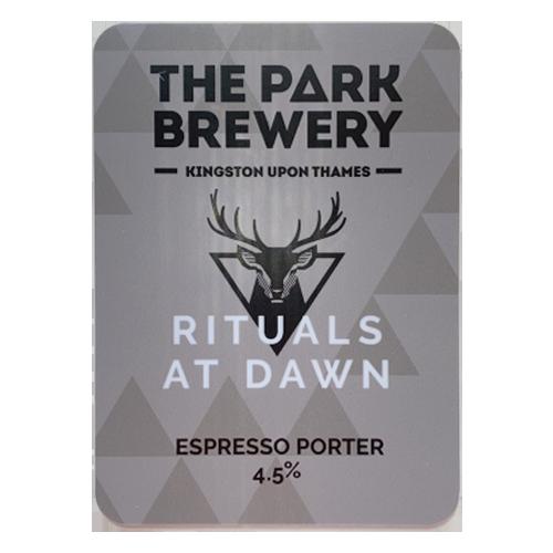 The Park Brewery Rituals At Dawn Espresso Porter