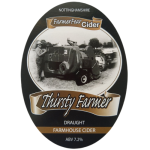 Thirsty Farmer Nottinghamshire Farmhouse Cider