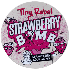 Tiny Rebel Brewery Strawberry Bomb Sour