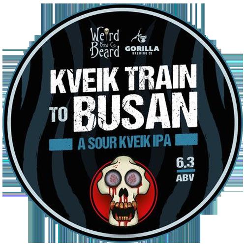 Weird Beard Kveik Train to Busan Sour Dark IPA