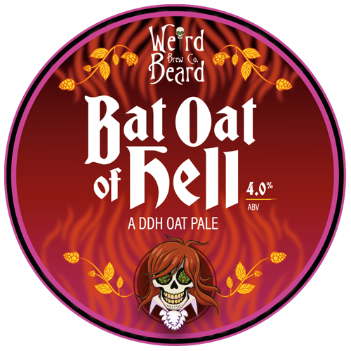 Weird Beard Bat Oat Of Hell DDH Oat Pale