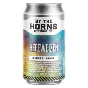 By the Horns Hefeweizen Cans