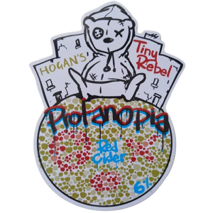 Hogans Cider Ltd and Tiny Rebel Protanopia