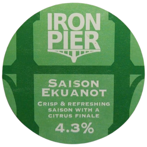 Iron Pier Saison Ekuanot