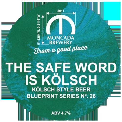 Moncada Brewery Safe Word is Kolsch