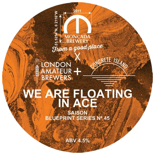Moncada Brewery We Are Floating in Ace