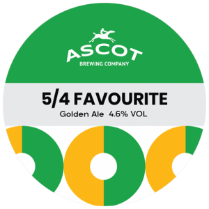 Ascot Brewing Company 5/4 Favourite