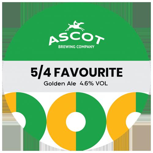 Ascot Brewing Company 5/4 Favourite