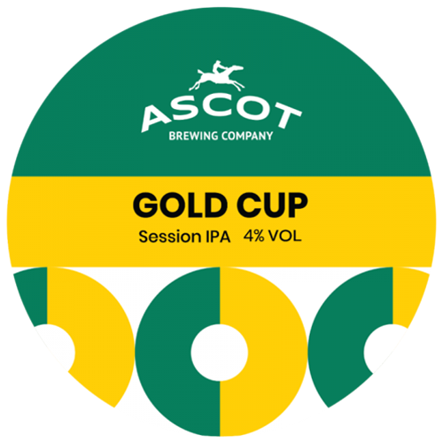 Ascot Brewing Company Gold Cup