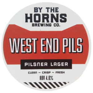 By the Horns Brewing Co. West End Pils