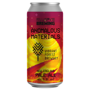 Elusive Brewing Anomalous Materials Cans