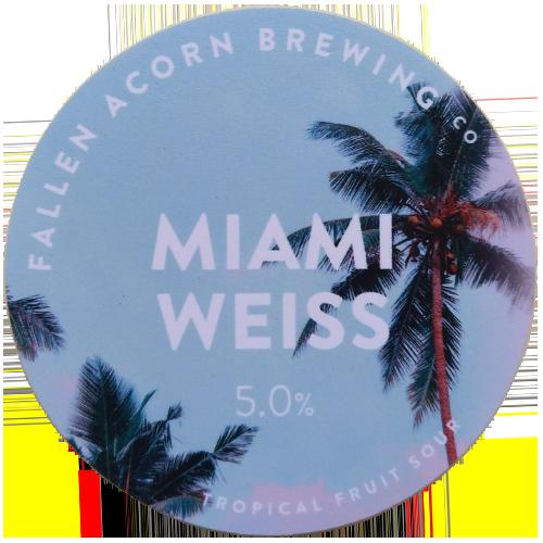 Fallen Acorn Brewing Miami Weiss