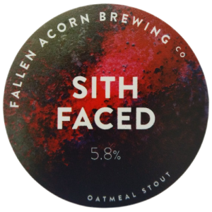 Fallen Acorn Brewing Sith Faced