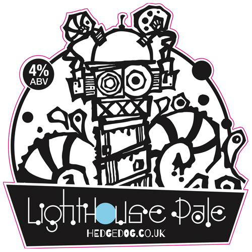 HedgeDog Brewing Lighthouse Pale