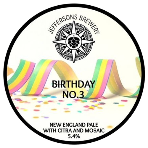 Jeffersons Brewery Birthday No.3