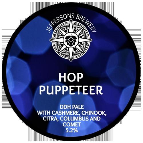 Jeffersons Brewery Hop Puppeteer
