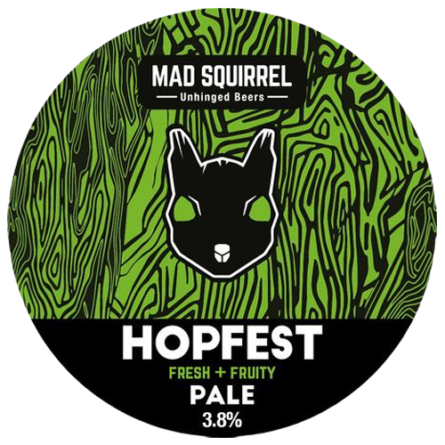 Mad Squirrel Hopfest Gluten Free Pale