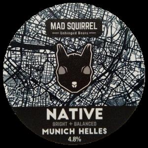 Mad Squirrel Native Munich Helles