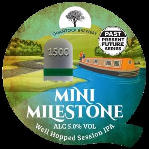 Quantock Brewery Mini Milestone