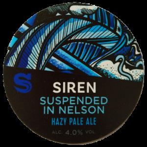 Siren Craft Brew Suspended in Nelson