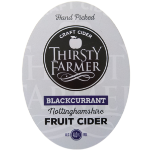 Thirsty Farmer Nottinghamshire Blackcurrent Cider