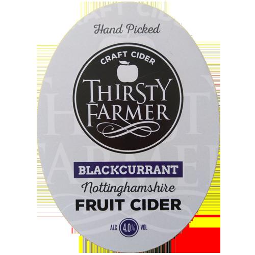Thirsty Farmer Nottinghamshire Blackcurrent Cider