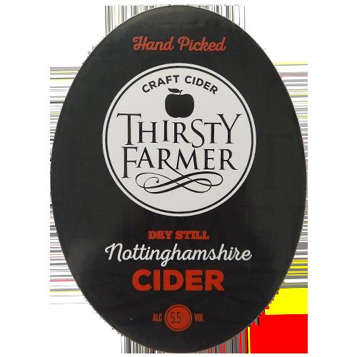 Thirsty Farmer Nottinghamshire Dry Still Cider