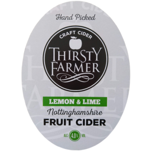 Thirsty Farmer Nottinghamshire Lemon & Lime Cider