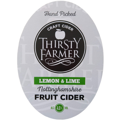 Thirsty Farmer Nottinghamshire Lemon & Lime Cider
