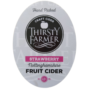 Thirsty Farmer Nottinghamshire Strawberry Cider