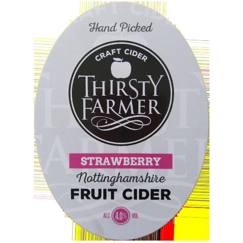 Thirsty Farmer Nottinghamshire Strawberry Cider